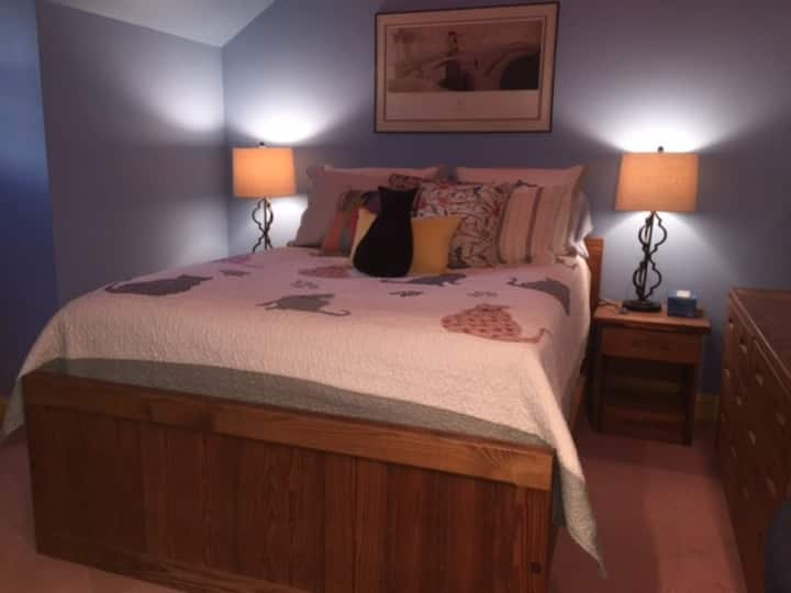 Comfortable Room with multiple beds ideal for 1-5
