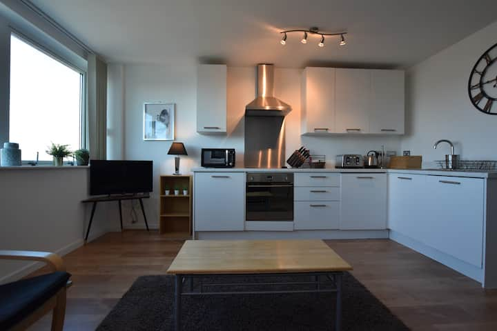 Brilliant one bed apt, close to all city offers