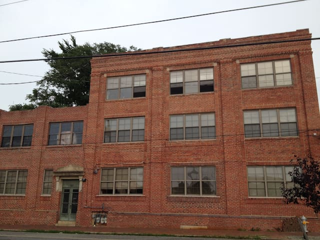 "Our beloved ""Chadwick"" Circa 1916 converted Printing Press Warehouse loft style apartments"