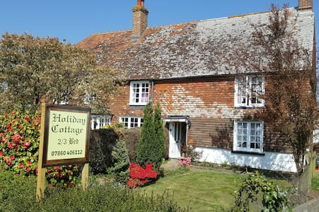 Old Sussex cottage in 1066 country in Herstmonceux - Windmill Hill - Дом