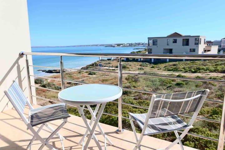 Beachfront family apartment.