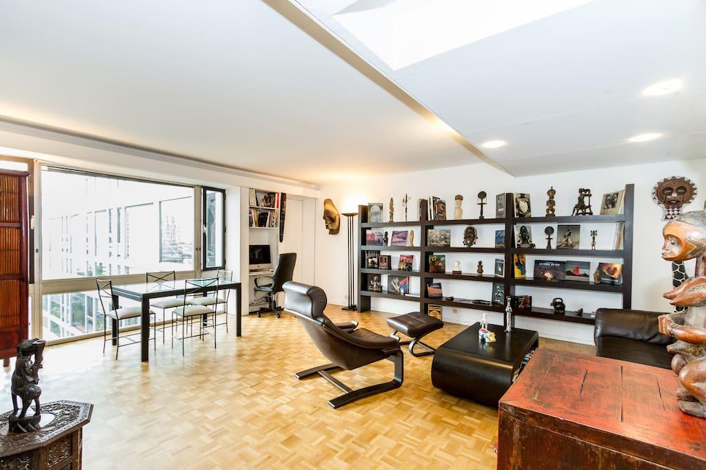 60m2 tout confort montparnasse apartments for rent in paris le de france france. Black Bedroom Furniture Sets. Home Design Ideas