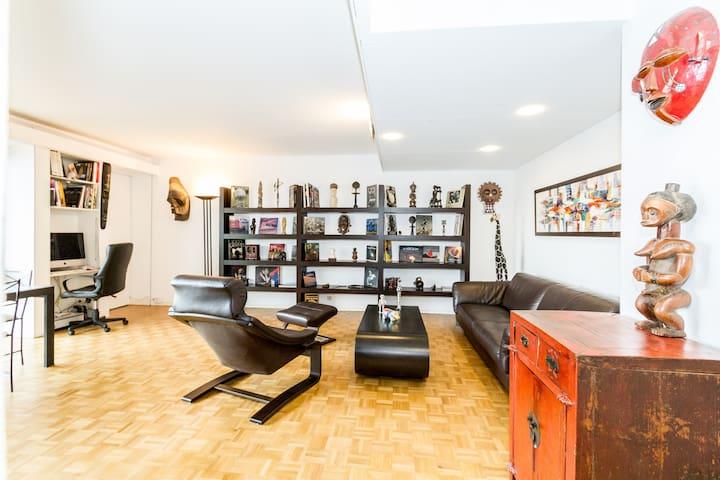 le salon 30 m2