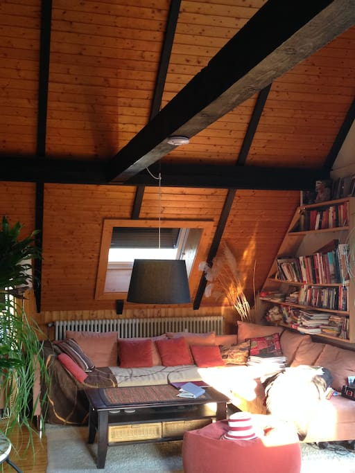 Wohnzimmer, aus der Sicht des Essbereiches