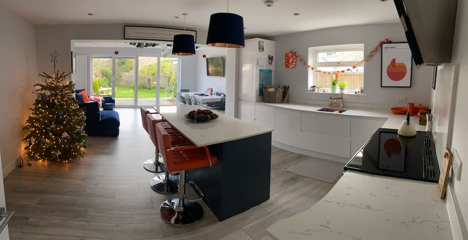 Contemporary, family home in a superb location