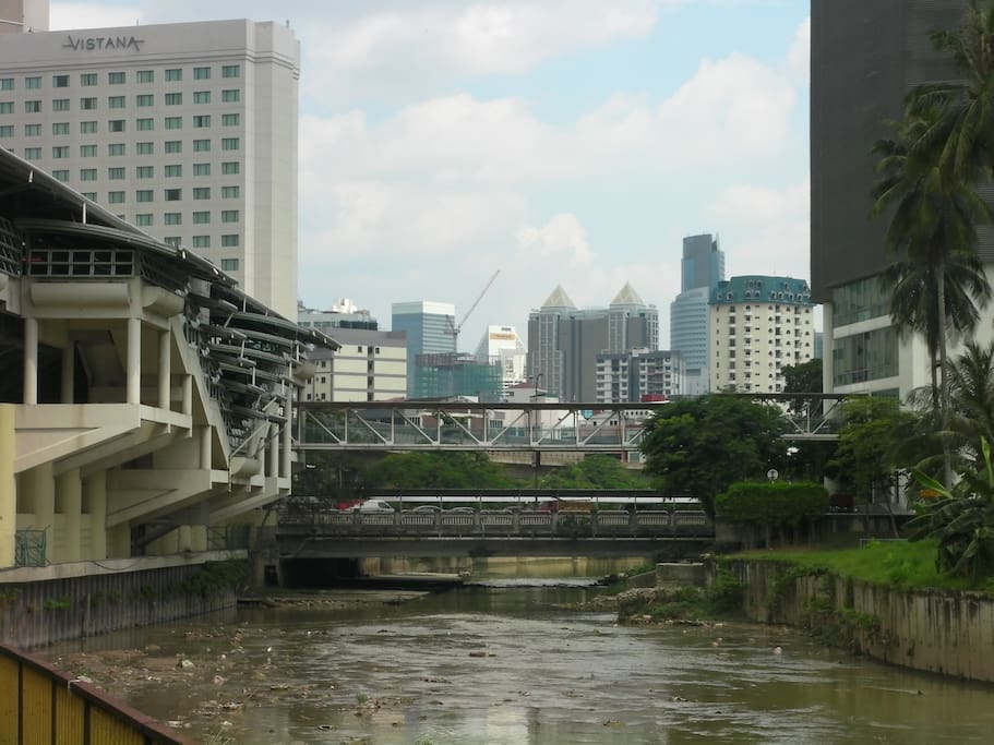 Titiwangsa LRT/Monorail/Bus hub for quick access to all of KL and beyond