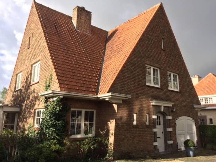 Knokke-Zoute charmante cottage voor elk seizoen.