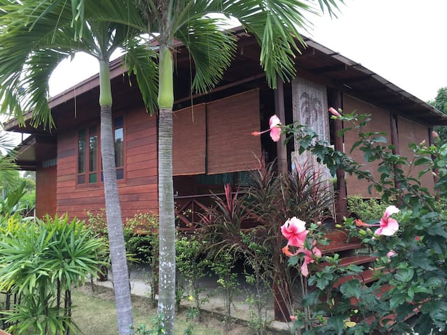 Cottage Chic Teak bungalow - Sam Roi Yot - Chalet