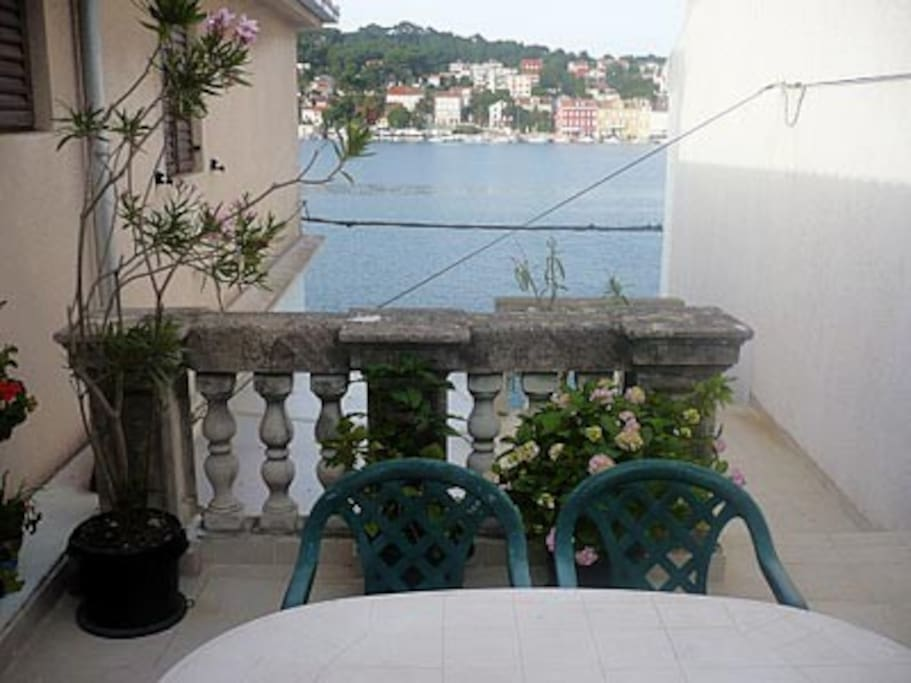 View from terrace