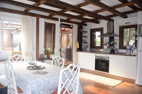 Wooden house in ElRefugio Archidona