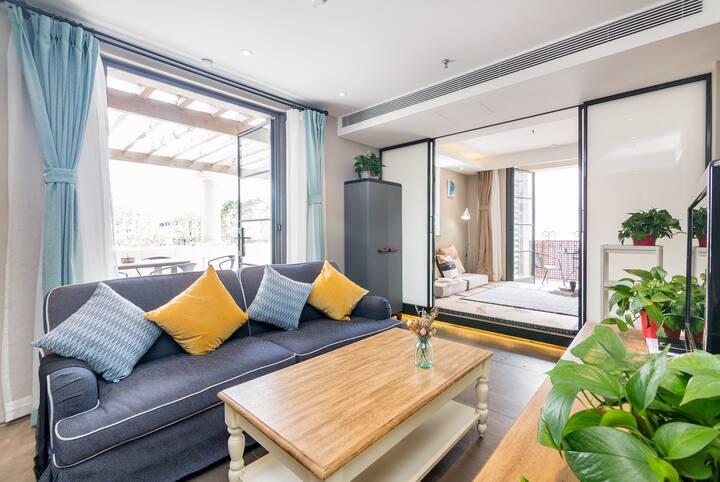 阿那亚海滨2室1厅+独有100平米大阳台