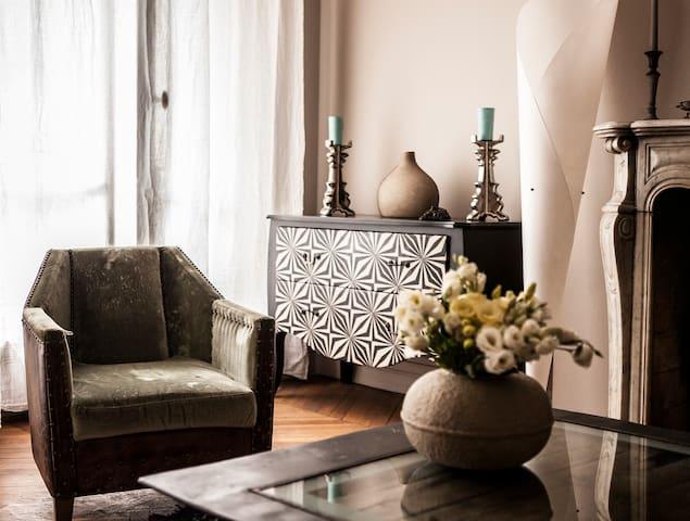 Elegant Appartement/Rue Oberkampf - París - Pis