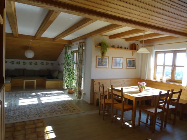 Auerberghaus #Ferienwohnung - Lechbruck am See - Apartment