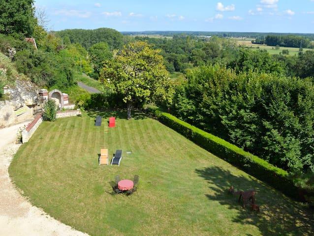 Loft troglodyte du Château de  l'Etoile - Venus - Vernou-sur-Brenne - Grot