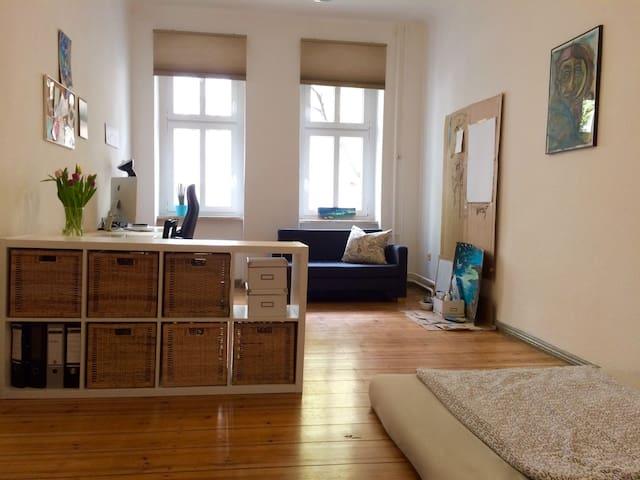 Big, bright and arty apartment - กรุงเบอร์ลิน - (ไม่ทราบ)