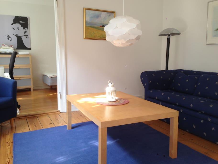 2 room apt in centre of Lund