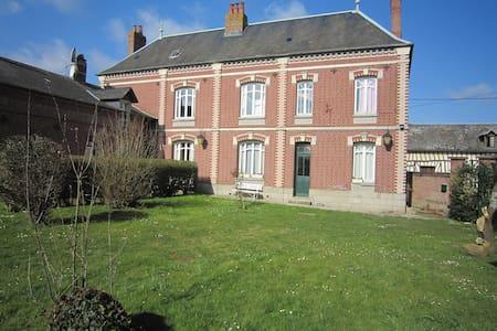 Grand gîte familial - Bouttencourt - Dům
