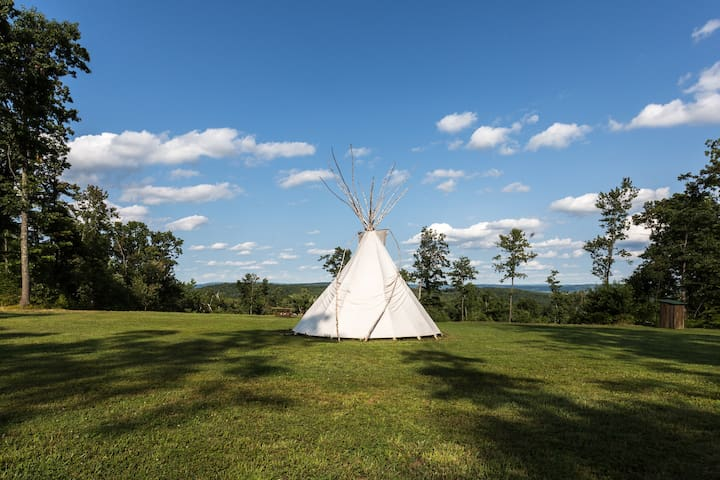 Tipi with a View, Very Beautiful !  - Millerton - Tipi