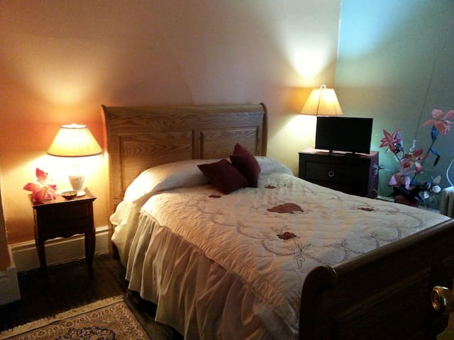 Comfortable& private B&B. Walk to Go/25 min to TO!