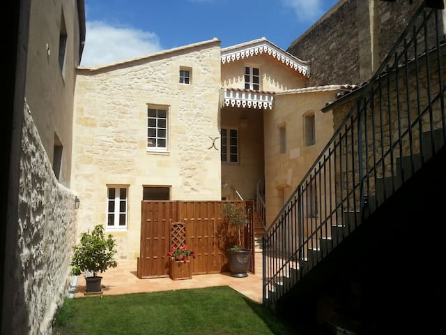 4p Housing & Terrace In St Emilion - Saint-Émilion - Hus