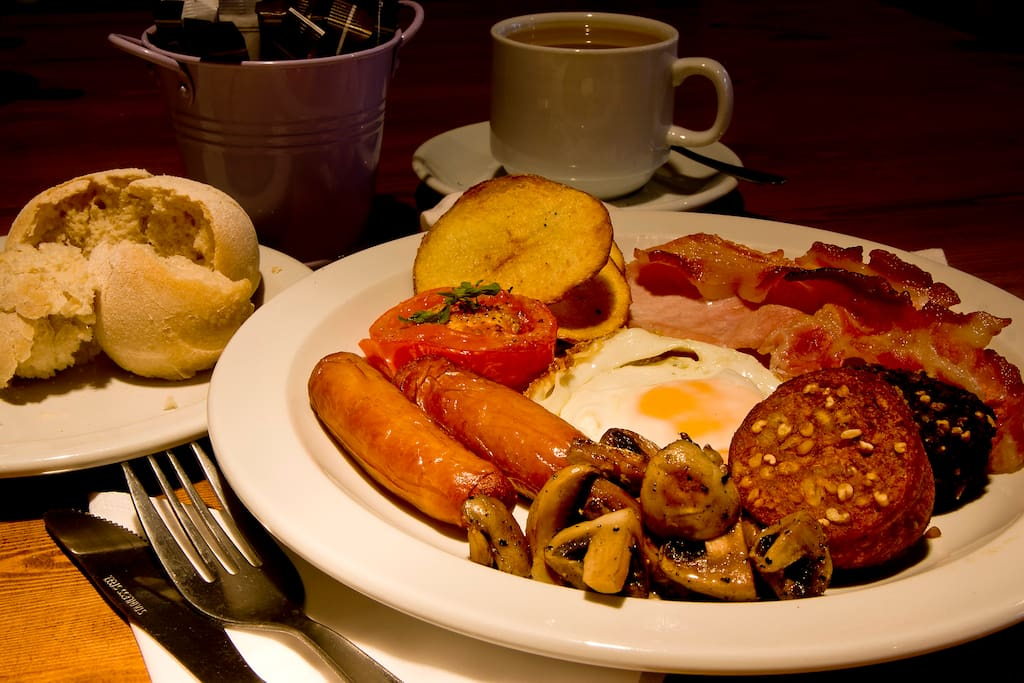 Home cooked breakfast with locally sourced products. Special diets catered for, just tell us in advance!