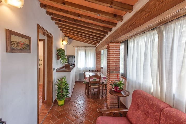 Apartment Villa Chianti Pool WiFi Air Cond. (D)