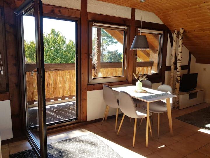 Ferienwohnung mit eigener Sauna im Bergischen Land