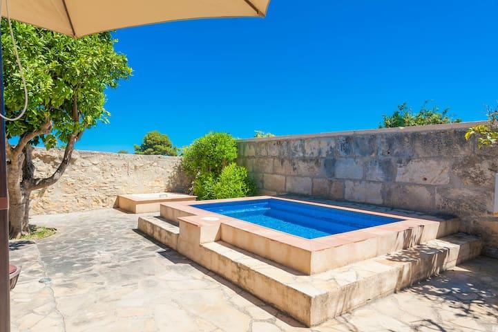 Can Pan - enchanting town house with private pool - Santa Margalida - Hus