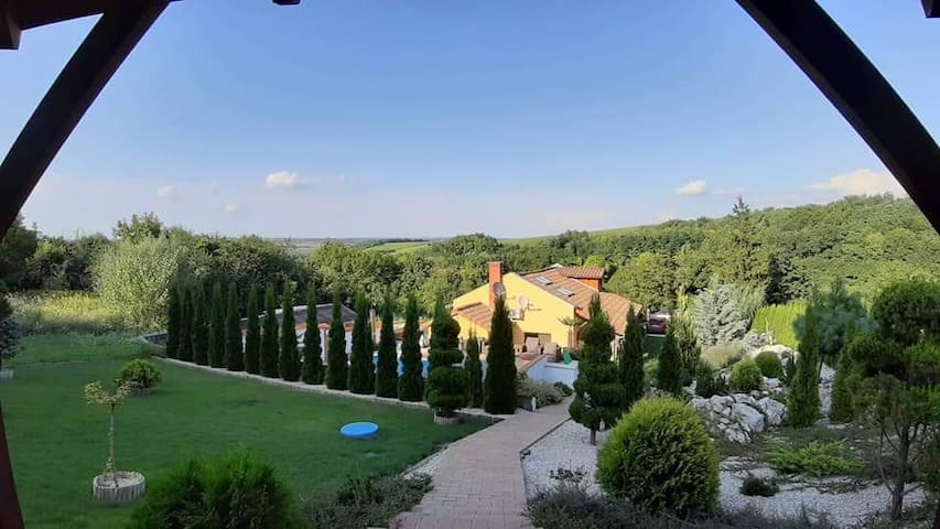 """""""Little Tuscany""""  in Hungary right in the nature."""