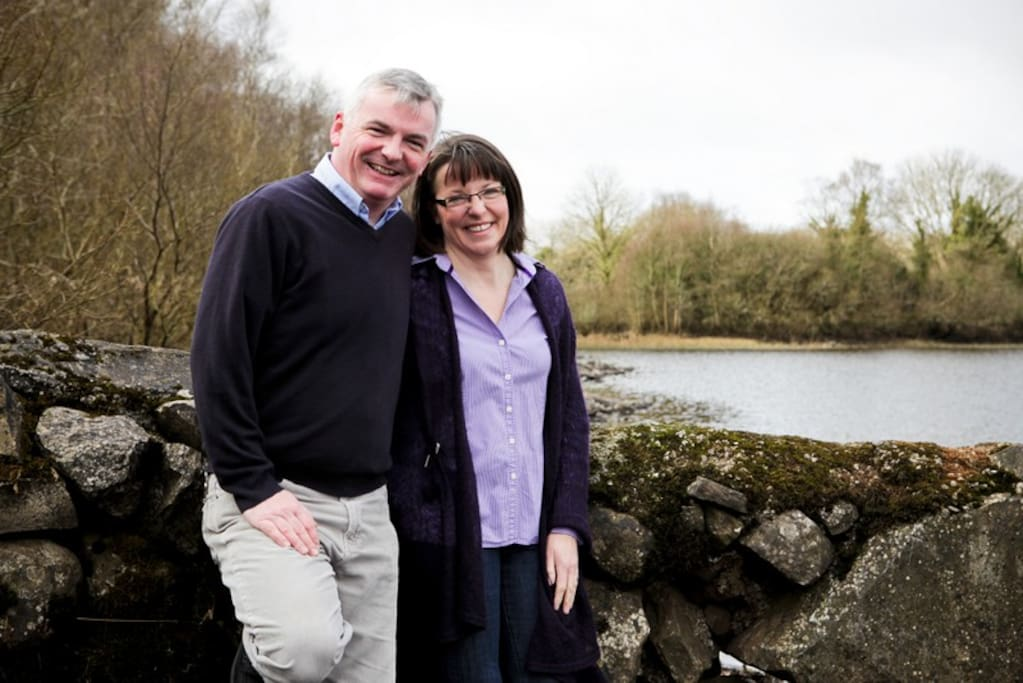 Paul & Gerardine, (and Nicolia!) we are looking forward to welcoming you to Lough Lannagh Lodge.