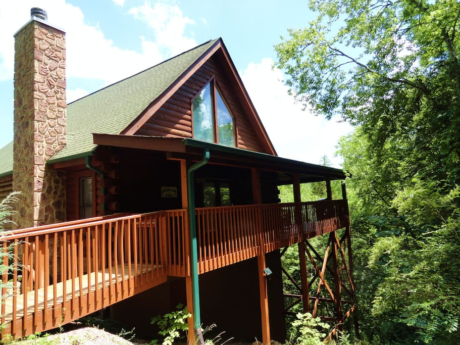 Discounts dollywood splash country dixie stampede cabins for Eagles view cabin sevierville tn