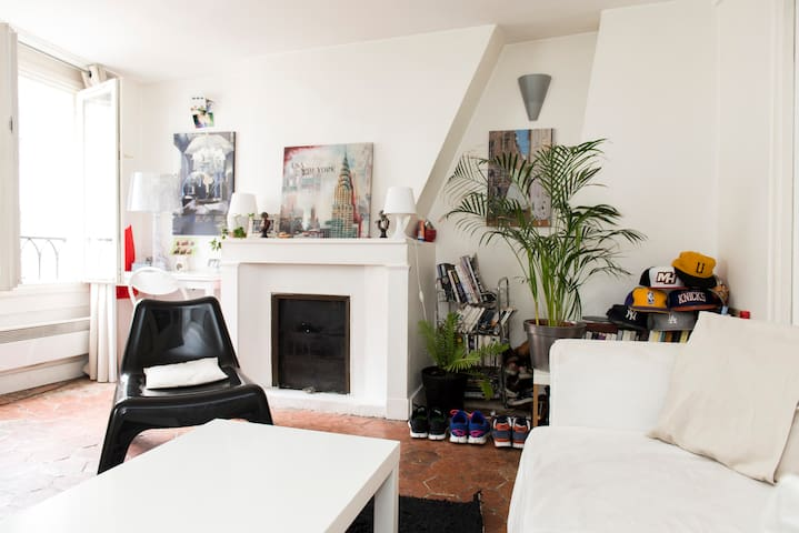 Charming two rooms appartement  - Paris - Apartment