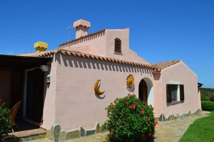 Villa Hibiscus  garden and exclusive swimming pool - Stintino - House