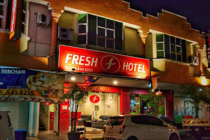 King Deluxe at Fresh Hotel Bercham