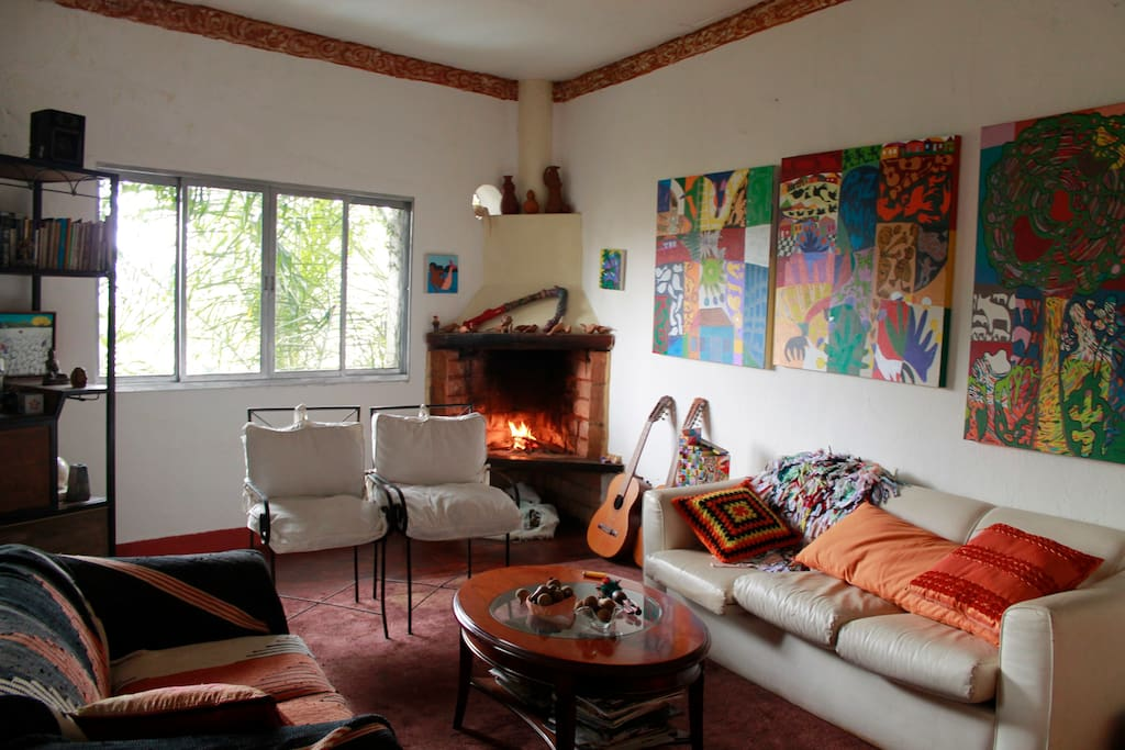 Casa Butanta Living Room