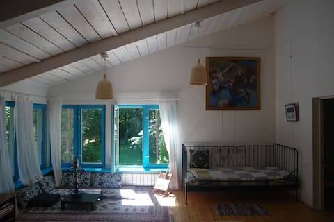House in woods. Rent a home 90 kms from Moscow