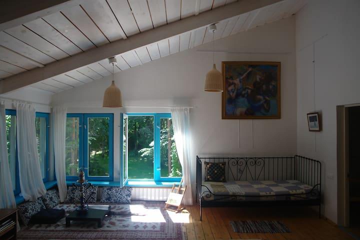 Дом в лесу 90 км от Москвы, рядом с гор. Коломна