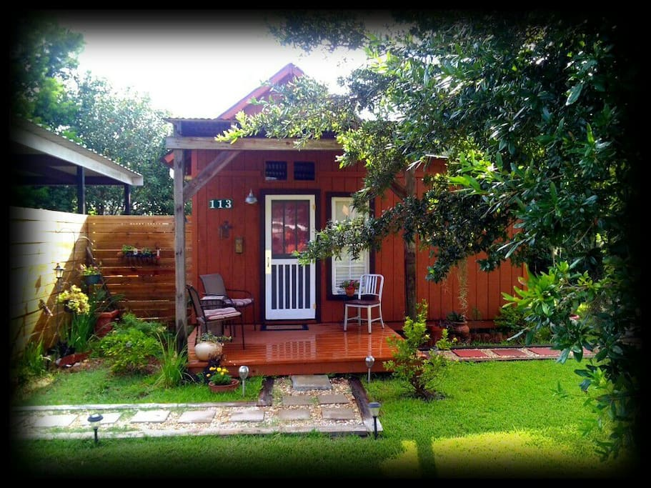 The Cajun Cabin Guest Cottage Cottages For Rent In