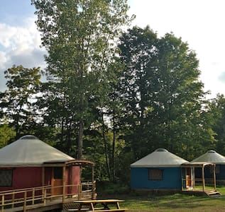 Beautiful Yurt Rentals, Upstate NY - Granville