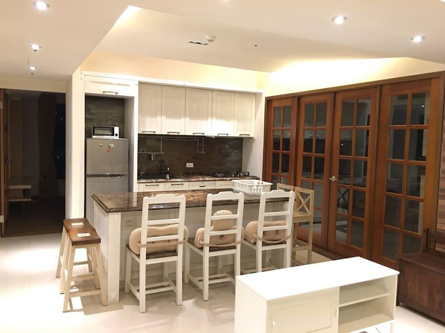 Kitchen/ Balcony