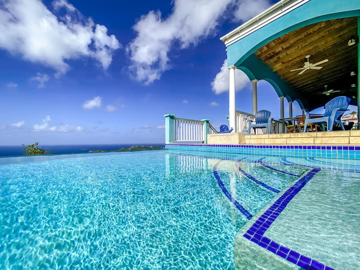 3BR Fabulous 160º Views of Charlotte Amalie Harbor
