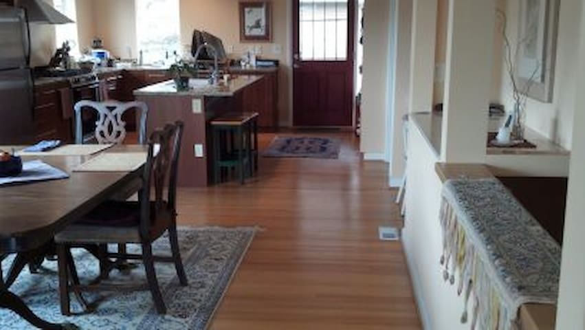 Beautiful Ravenna Hardwoods UW