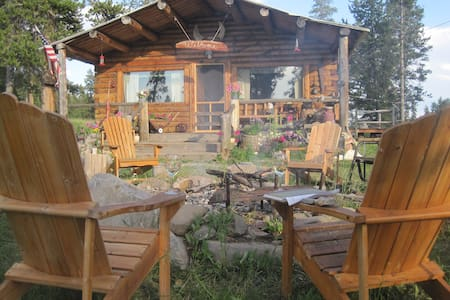 Secluded cabin experience B&B - Gardiner