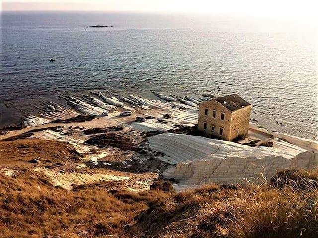 Grande Punta Bianca, - Agrigento - Huis