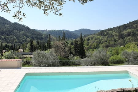 Provence villa. Stunning views and unique location - Bargemon