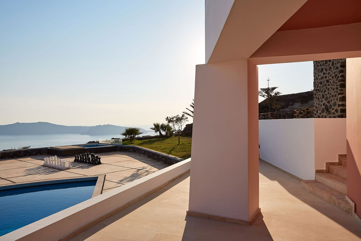 villa dana villas for rent in imerovigli santorini greece