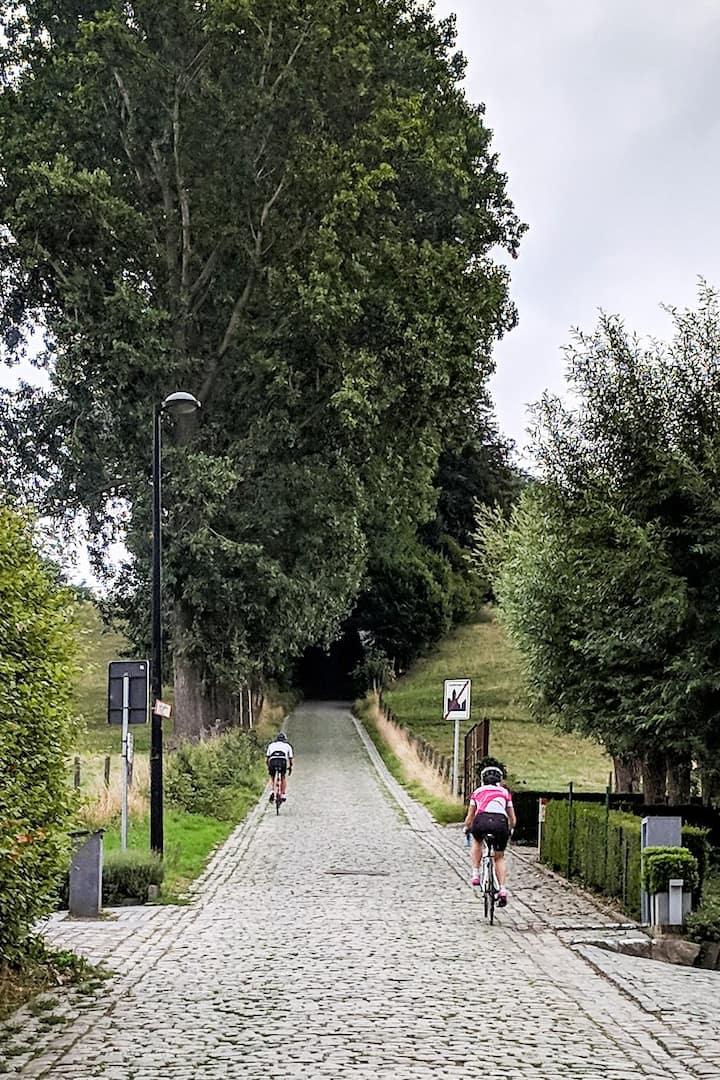Start of Koppenberg