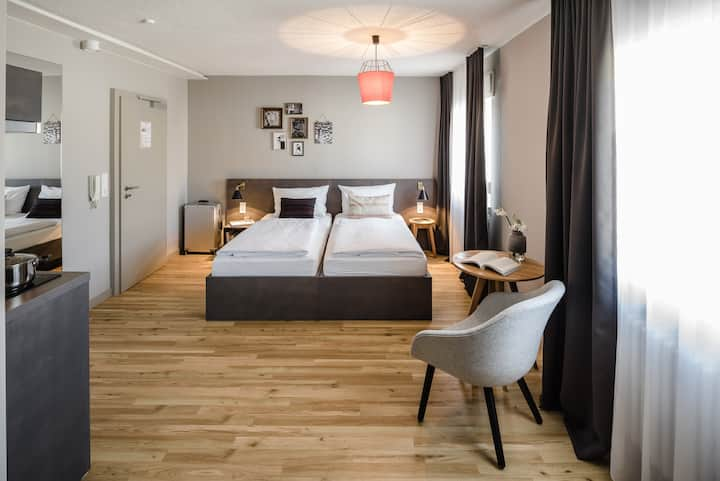 Double apartment in design hotel - near trade fair