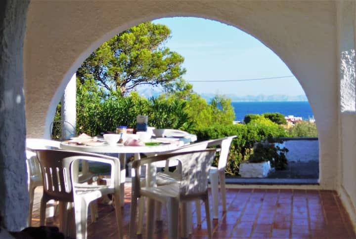 Casa Furman, très tranquille avec vues sur mer.