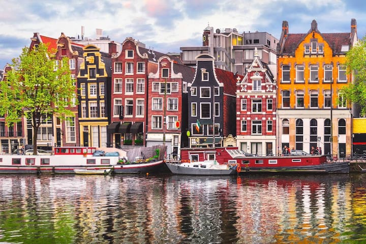 Amsterdam Holidays: Private Shower &  Instant Book